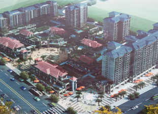 长泰县龙津商业广场